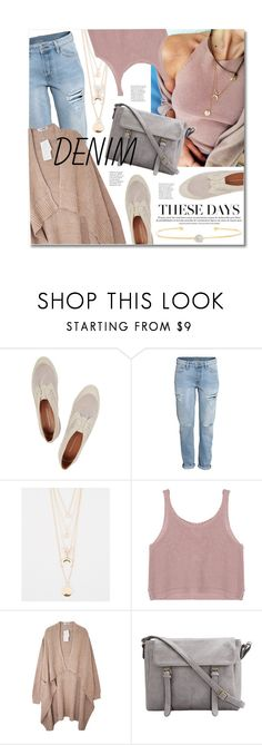 """Distressed Denim"" by miee0105 ❤ liked on Polyvore featuring moda, Rebecca Minkoff, Full Tilt, La Soula, women's clothing, women, female, woman, misses e juniors"