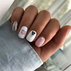 Semi-permanent varnish, false nails, patches: which manicure to choose? - My Nails Minimalist Nails, Aycrlic Nails, Fun Nails, Coffin Nails, Gradient Nails, Holographic Nails, Toenails, Stiletto Nails, Stylish Nails