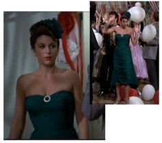 Marty's prom dress in Grease