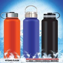 [Outdoor Sports] 12/18/22/32/40/64 OZ Wide Mouth Powder Coating Double Wall 18 8 Stainless Steel Hydro Flask
