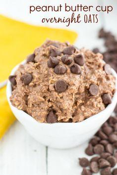 Overnight Oats - Peanut Butter Cup