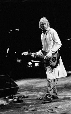 """""""We've never cared much for professionalism as long as the energy was there. Like our live shows: We're out of tune and use a lot of feedback. That's not on purpose or because we don't care. We're just musically and rhythmically retarded and we play so hard that we can't tune our guitars fast enough."""" -Kurt Cobain"""