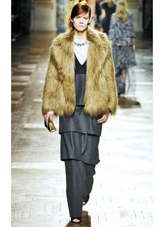Dries Van Noten Fall 2013 Runway