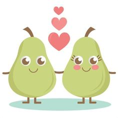 A Cute Pear SVG cutting files pear svg cuts cute svg cut files cute svg cuts free svgs