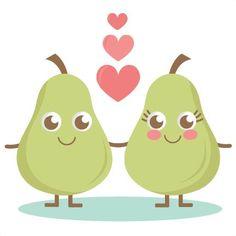 A Cute Pear SVG cutting files pear svg cuts cute svg cut files cute svg cuts free svgs