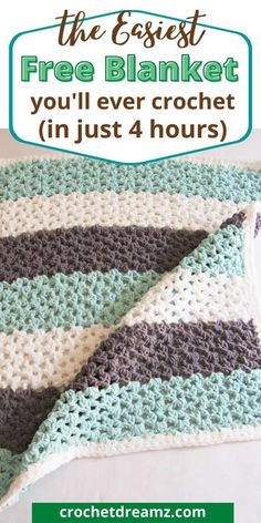 Beginner Crochet Projects, Crochet For Beginners Blanket, Crochet Patterns For Beginners, Crochet Basics, Knit Or Crochet, Crochet Crafts, Easy Crochet, Crochet Hooks, Free Crochet