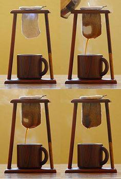 Recuerdos de Costa Rica -- chorreador de cafe