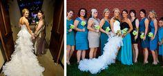 Kristina and Jon - Real Knoxville Wedding via KnoxBride.com