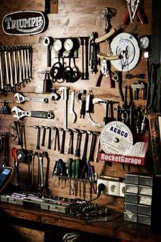 More Than 73 Best Motorcycle Shop Workshop Man Cave Ideas