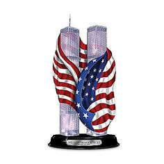 10th Anniversary September 11th Twin Towers Sculpture