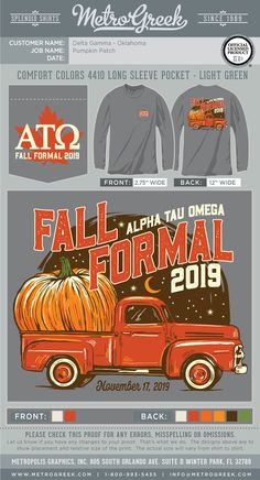 A great collection of Formal T-shirts for your Greek organization. Browse the collection for the perfect T-shirt for your Fraternity or Sorority. Fraternity Formal, Fraternity Shirts, Sorority And Fraternity, Sorority Shirts, Alpha Tau Omega, Sorority Formal, Greek Shirts, Formal Shirts