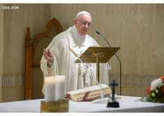 (RV) #Homily #PopeFrancis: A Christian cannot keep quiet about announcing Gospel (April 22, 2016)