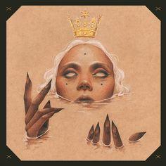 love it.     The Curse - Omen VII by Vero Navarro