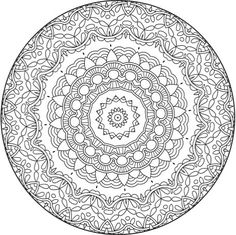 Coloring to Calm, Volume One: Mandalas