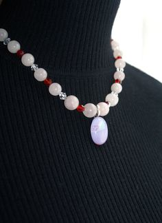 My Valentine Necklace by TwoRavensCrafts on Etsy, $80.00