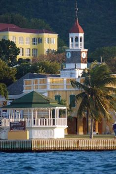 Christiansted, St. Croix, just down the street from Sugar Beach....