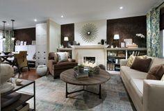 Candice Olson Living Room/Dining Room