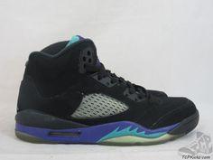 Vtg OG 2013 Nike Air Jordan V 5 s sz 5.5y VI Retro Black Grape Laser Tokyo #Jordan #Athletic #tcpkickz