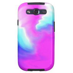 Farbstrudel Etui Fürs Galaxy SIII