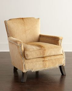 Emmit Hairhide Chair - $2,899.00
