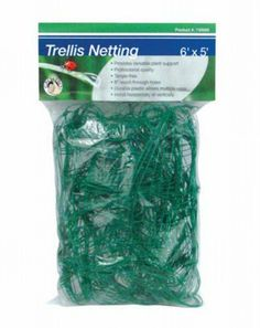 Trellis Netting   Gro Pro 6u0027 X 25u0027 By Gro Pro Garden Products. $22.95.  Tangle Proof. Pliable Plastic. Strong And Durable. Use Vertical Or  Horizontal.