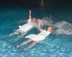 Our Wedding with a splash! Our Wedding, Weddings, Outdoor Decor, Wall, Bahia, Wedding, Walls, Marriage