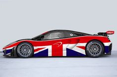 Cool Britannia! McLaren Iconic New 12C GT3 Special Edition