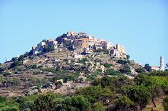 Sant'Antonino, Corsica - classified most beautiful village in the north of Corsica - France