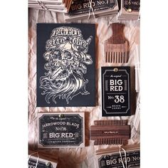 He's bearded and he's a bastard and look what's headed his way. @tbbinc the #skullanddagger is laser etched into a wood panel. It's part of our new artist series. #bigredbeardcombs  #beardcomb #pocketcomb #beard #bearded #beardedmen #beardoil #beardbalm #mustache #mustachewax #movember #gentleman #noshave #girlswholovebeards #instabeard #beardsofinstagram