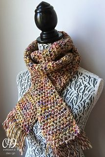 Ravelry: Earth Element Scarf pattern by Oombawka Design