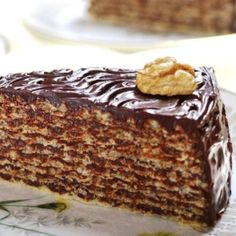 Romanian Desserts, Romanian Food, Cookie Recipes, Dessert Recipes, Delicious Desserts, Yummy Food, Eggless Recipes, Sweet Tarts, Homemade Cakes