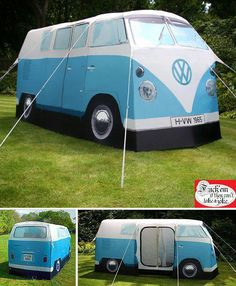 A Vw Tent Camping Made Awesome Caravan