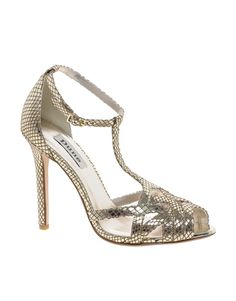 Dune Halifax Gold Dancing Shoes