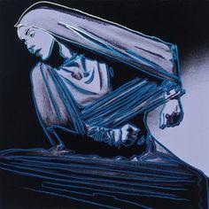 By Andy Warhol, 1 9 8 6, Lamentation.