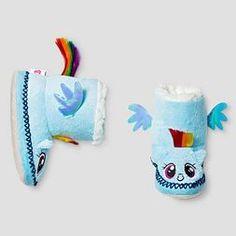 Kids My Little Pony Slippers - Blue