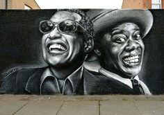 Wall by Woskerski 3d Street Art, Amazing Street Art, Street Art Graffiti, Street Artists, Graffiti Bridge, Graffiti Artwork, Wonder Art, Urbane Kunst, Urban Painting