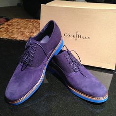 Just picked up these @Cole Haan Harrison Oxfords today! I am IN LOVE with them!!! They're $129.95 before an extra 20% off until tomorrow! Get yourself a pair now! (Not sponsored, I'm just seriously in love with these shoes!) http://www.colehaan.com/colehaan/catalog/product.jsp?catId=100=648901=648899
