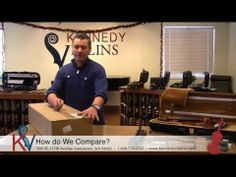 """We ordered a violin off Amazon to see how it compares to our own. View Kennedy Violins' """"Online Violin Comparison"""" video to see what sets us apart!"""