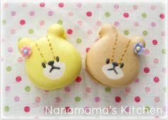 """twin bear """" LULU & LOLO """" macaron"""