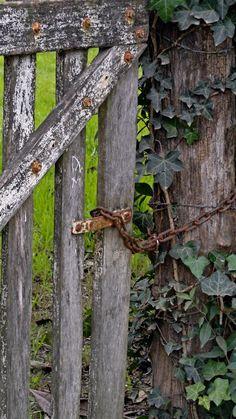 wonderful old gate