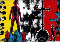 Gilbert & George past exhibition at Tate Modern Neo Pop, Keith Haring, John Minton, Pop Art, Gilbert & George, Graffiti, Exhibition Room, Cartoon Kunst, Impressionism