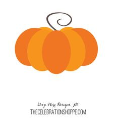 Pumpkin SVG for Die Cutting Machines | Kim Byers, TheCelebrationShoppe.com