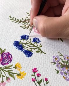 These colors make me so happy! These florals were for my latest wedding suite ad… – Art Center Gauche Painting, Watercolour Painting, Painting & Drawing, Color Make, Paludarium, Guache, Wedding Suite, Planner, Art Sketchbook