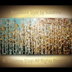 Hey, I found this really awesome Etsy listing at https://www.etsy.com/listing/82512596/original-large-textured-abstract-trees