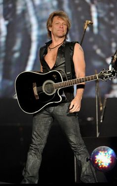 He'll always be Jon Bon Jovi to me.