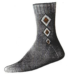 Knitting Socks, Knitting Patterns, Clock, Chain, Diamond, Collection, Fashion, Knit Socks, Watch