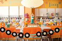 Cute candy table...