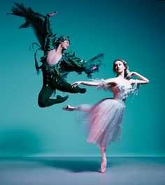 "The Australian Ballet Chengwu Guo and Madeleine Eastoe in ""The Dream"" photography Georges Antoni"