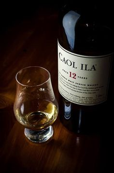 Caol Ila 12. One of the great underrated peated whiskies.