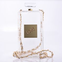 Luxury Fashion Perfume Bottle Chain Carry Case Cover for iPhone 6 Plus & 6S Plus